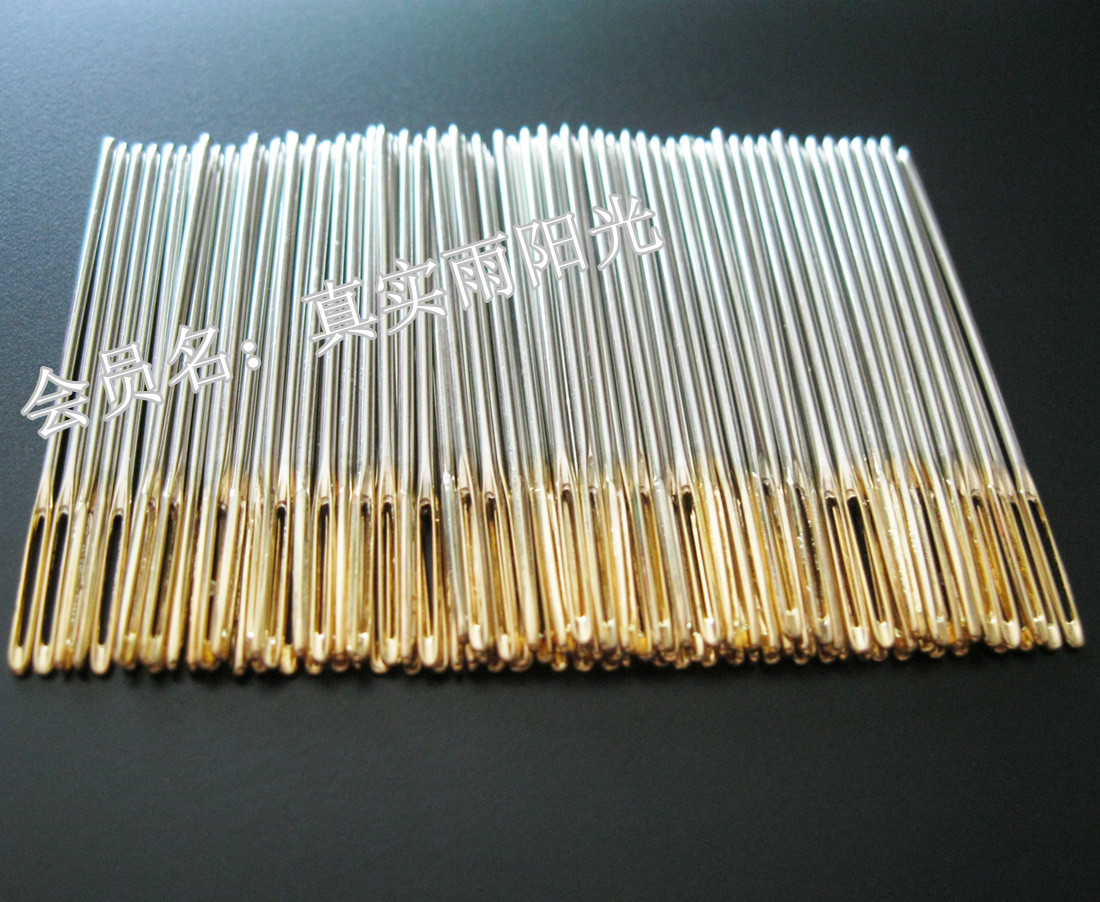 Иглы для вышивания Импортированные немецким крестом Золотая Вышивка гладью вышивка 100 22-4