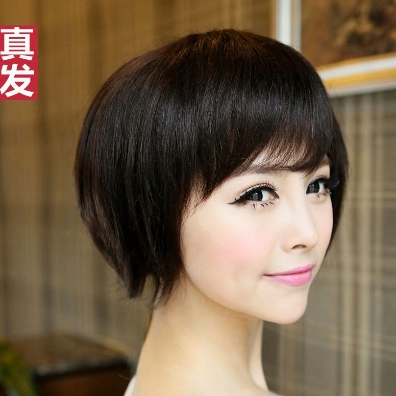 See Larger Image  Wig short hair hair fluffy Jurchen people their real    Jurchen People