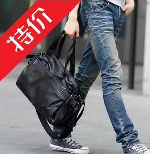 New shoulder bag Korean men's diagonal cross-travel and leisure bags Messenger bag school bags man bag trend bags