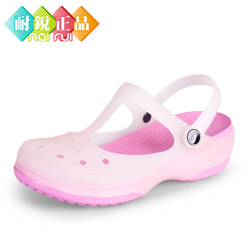 Hole color kalimalizhen slippers shoes summer shoes sandals, beach shoes garden flat jelly shoes