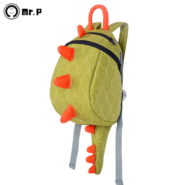 Mr.P latest small dinosaur kindergarten schoolbags children backpack schoolbag school bags travel must-have travel packages