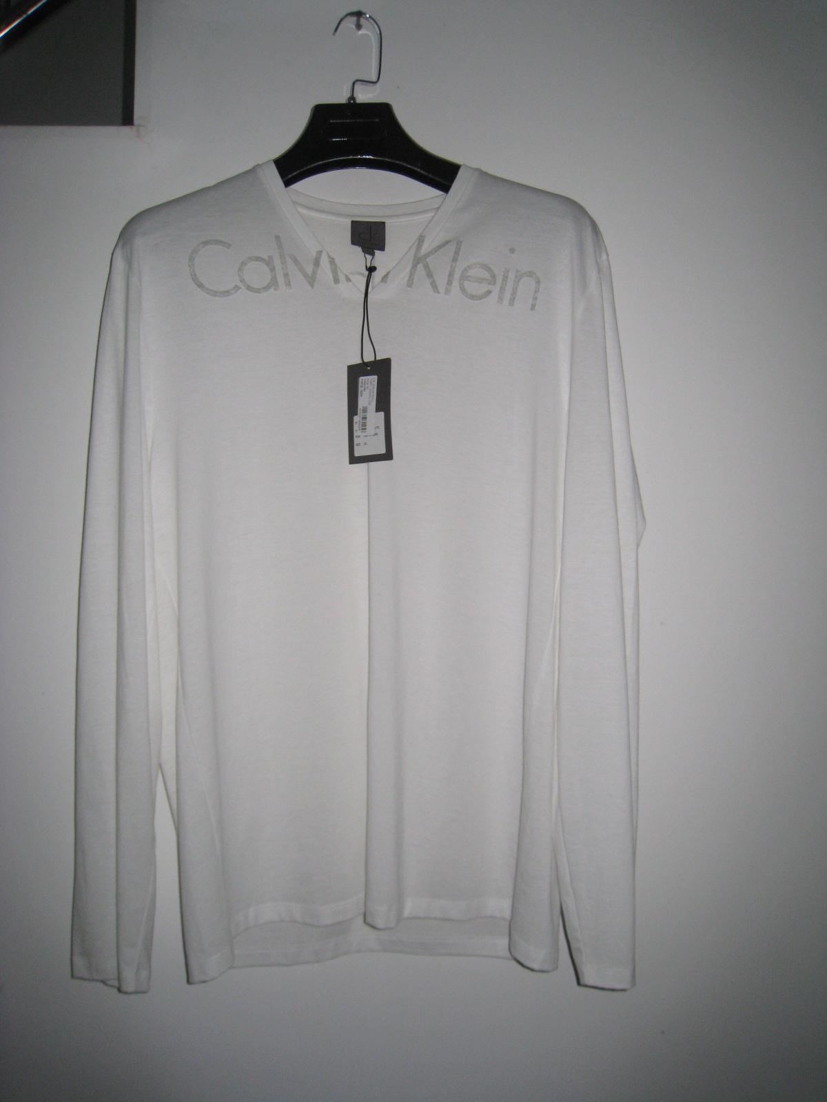 Футболка мужская Calvin klein 7567 (5gw) /100 CK XL