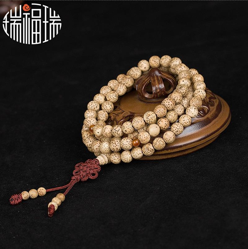 佛珠 佛珠手链男手串极品星月菩提子108颗菩提子手串男女情侣手链