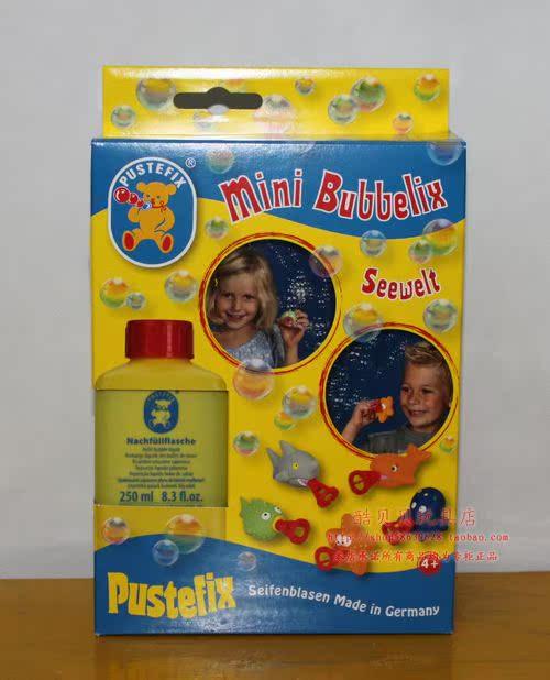 Мыльные пузыри Новый немецкий Pustefix пузырь летучей рыбы + 250 мл 869