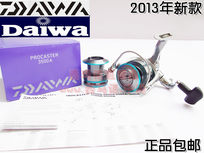Катушка для спиннинга DAIWA s137fe1 PROCASTER 3500A 2013 DAIWA / up to gigawatts