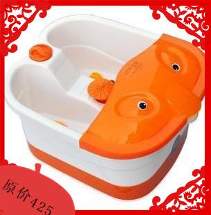 Гидромассажная ванна для ног Аутентичные Фут Массажер ног Ванна ванночку Ванна глубокую барабан электрические массаж ног