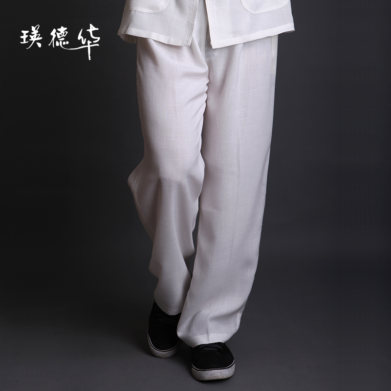 Ying Tak Wah new clothing men's casual clothing casual clothing trousers spring-summer men's pants bottoms