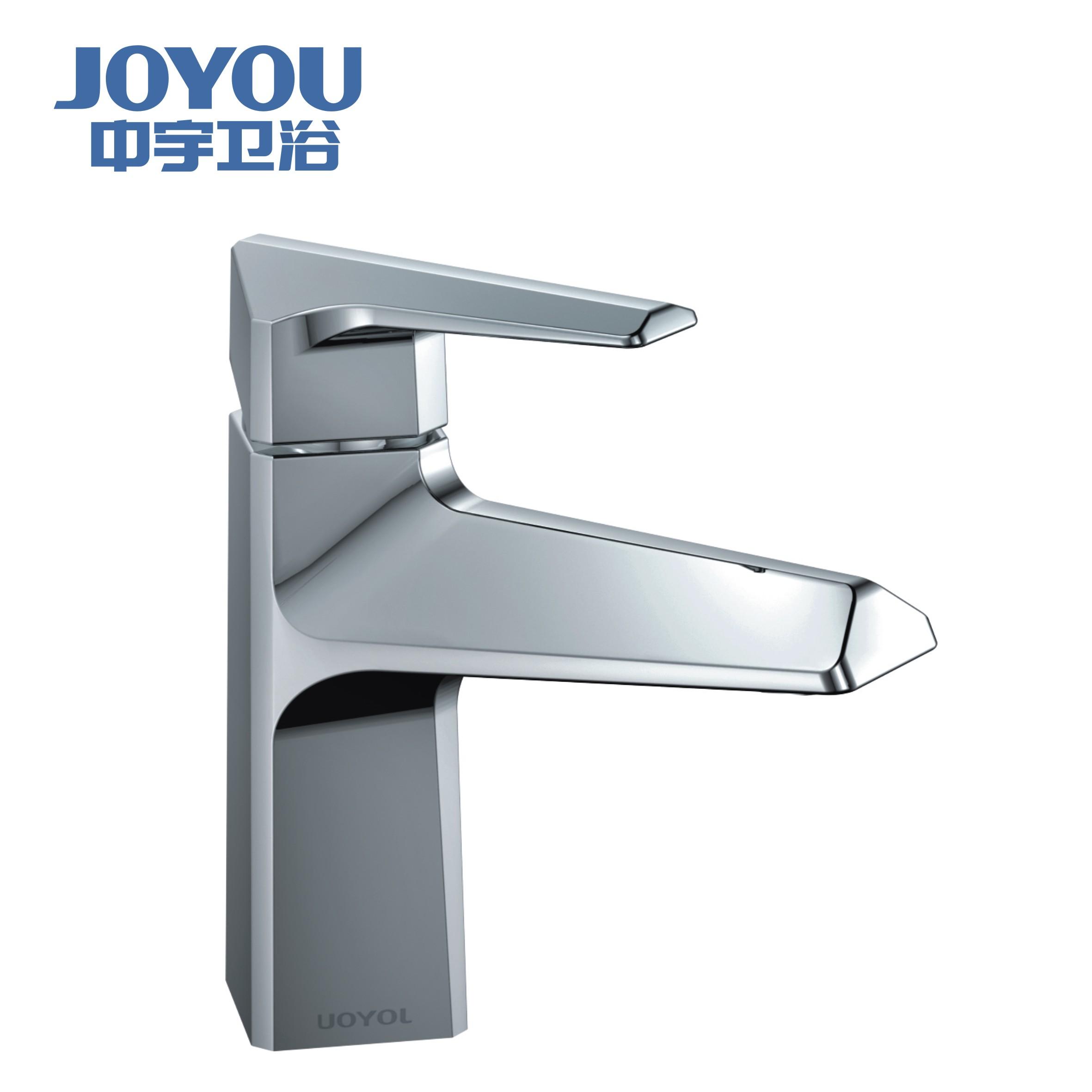 全铜面盆龙头JY00771