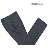 Heilan Home Sea Orchid House cut standard genuine men's casual pants Business Men's long pants summer thin section blue-black special