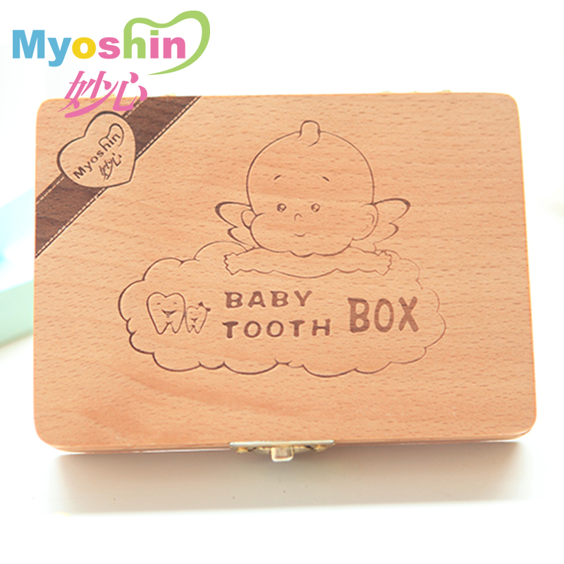 The ineffable heart of deciduous baby teeth to save baby birthday gifts lanugo cord collection kit box birthday souvenir