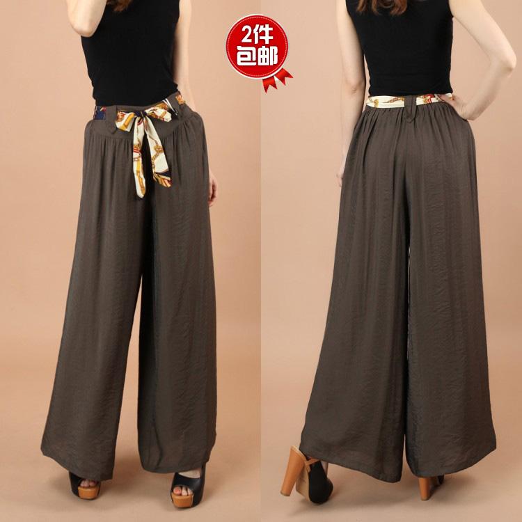 Женские брюки Baerdun b/8007 Брюки чуть выше щиколотки Широкие штанины Повседневный Осень 2013, Весна 2013, 2013 года Тонкая модель