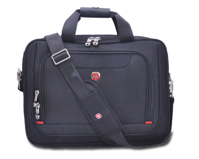 Swiss Army Knife shoulder bag business briefcase man portable laptop bag SA9722 14 inch 15.6-inch