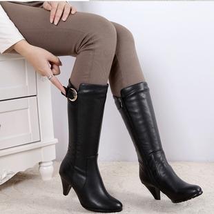 冬季新款达芙妮中筒靴