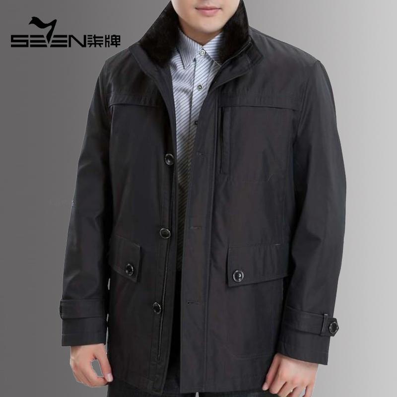 皮衣休闲柒牌夹克潮流前线 (288元)  5: 柒牌男装 新款男式休闲皮外套