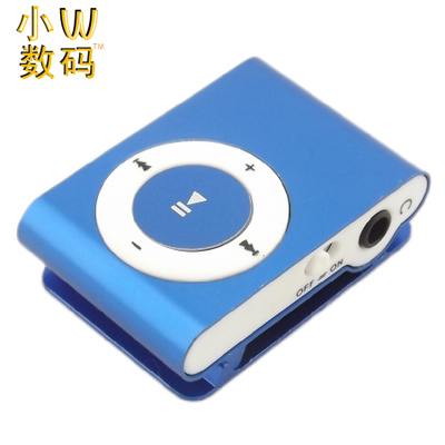 Small clip MP3 card clip mp3 player with memory card MP3 clip MP3 player P3