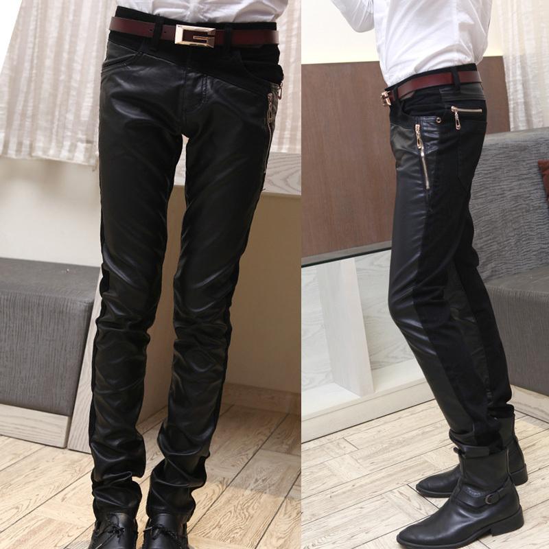 Кожаные брюки Others 2523181 2013 Полиуретановый кожезаменитель Зимняя