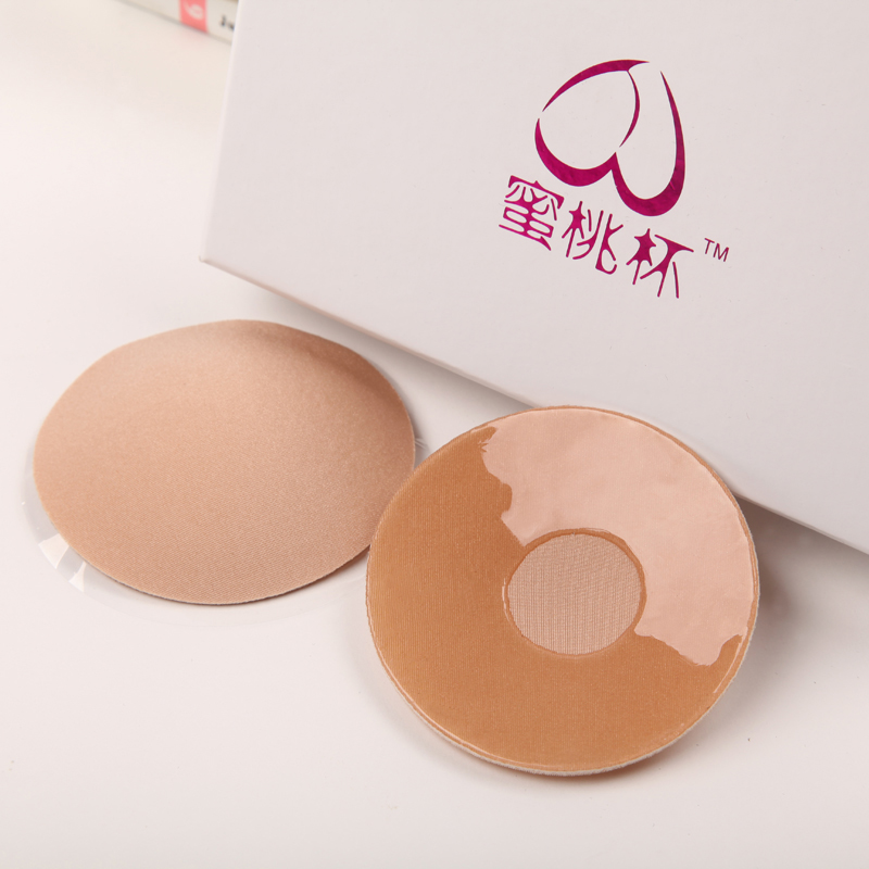 Peach cup milk invisible breathable bra stick nipple sticker stickers wedding yarn-bump-proof underwear no trace left 包邮