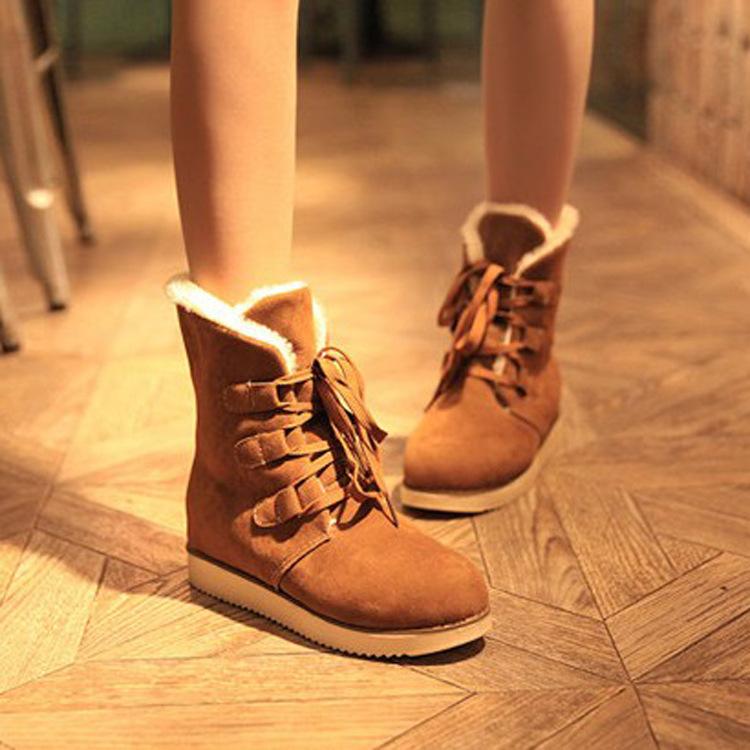 Женские сапоги Осень/Зима 2013 конец ретро моды, теплые зимние ботинки и толстые Новой Англии классические женские короткие сапоги плоские туфли