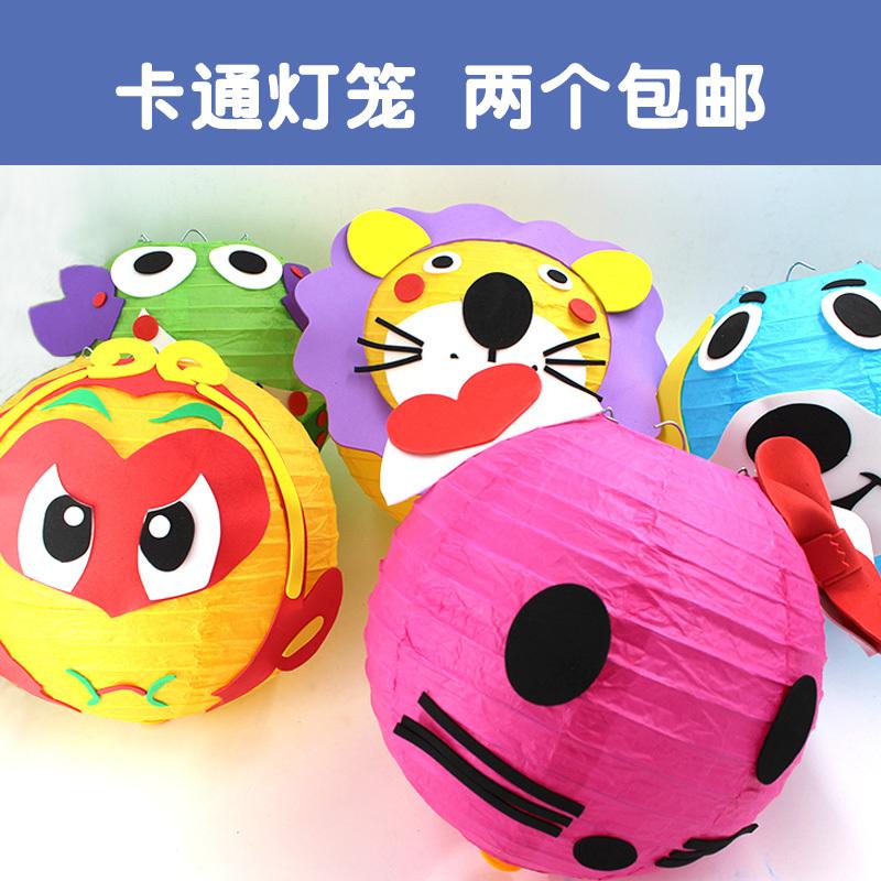 幼儿园儿童手工制作材料包春节新年挂饰装饰品粘贴画