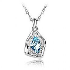 女生最爱水晶项链 幸福祈愿水晶吊坠饰品