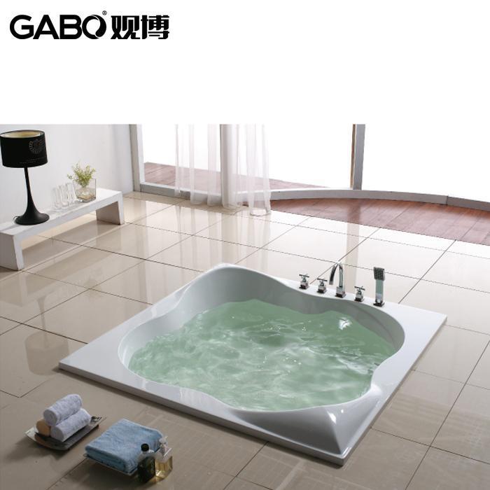 观博嵌入式无裙浴缸GBA209
