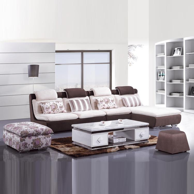 小户型 现代布艺沙发 特价 转角沙发 定制沙发 布艺转角组合沙发