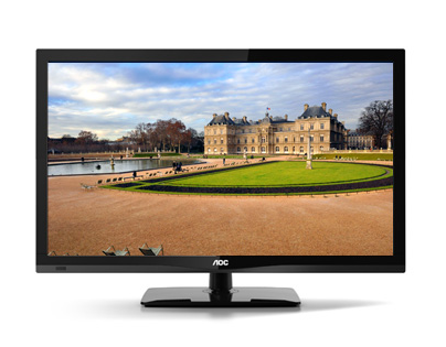 LED-телевизор Aoc T2464WM 23.6 USB 24 дюйма 2012 1920 × 1080 Светоиспускающие диоды