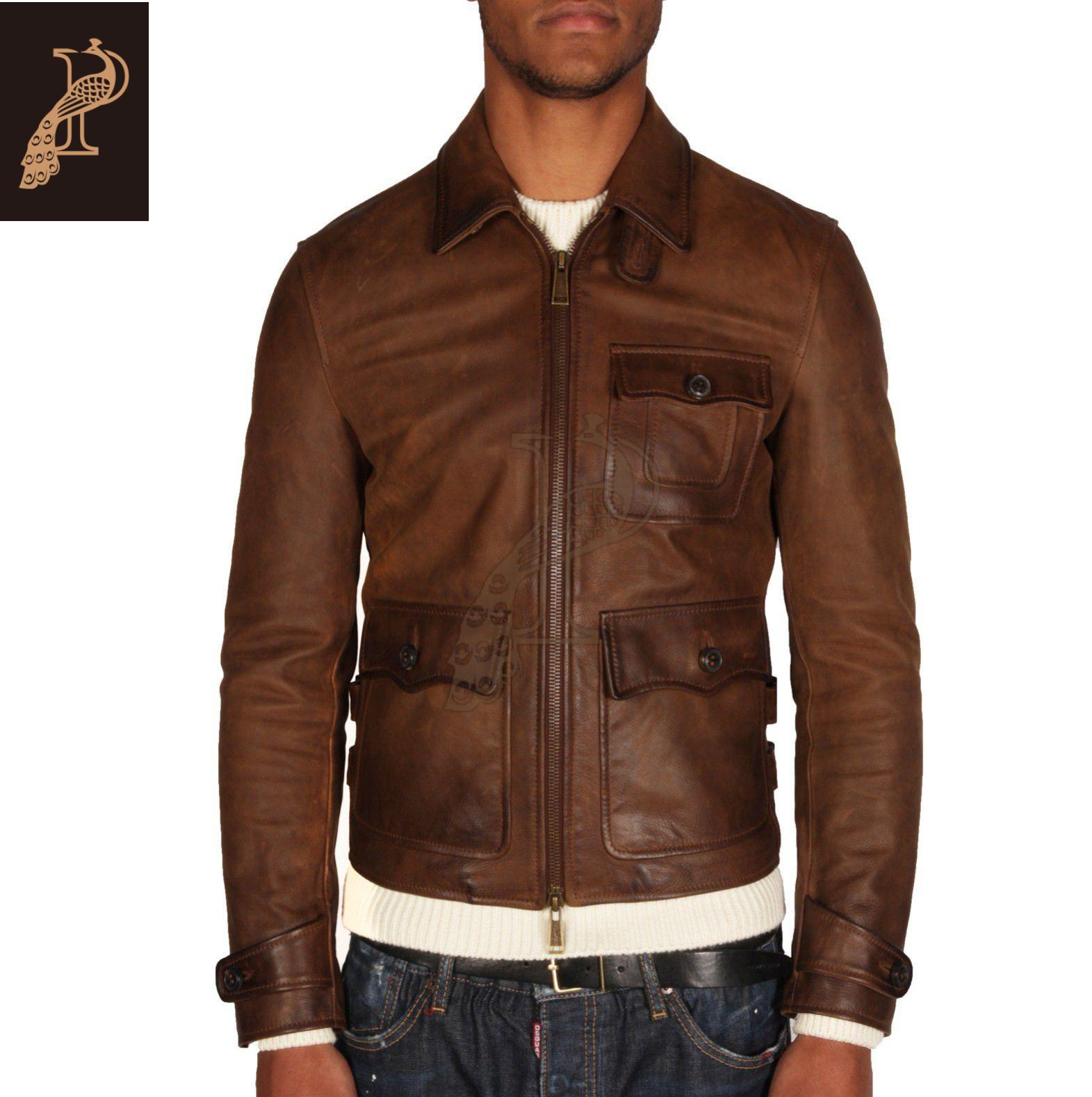 Одежда из кожи DSquared2 41378387bl