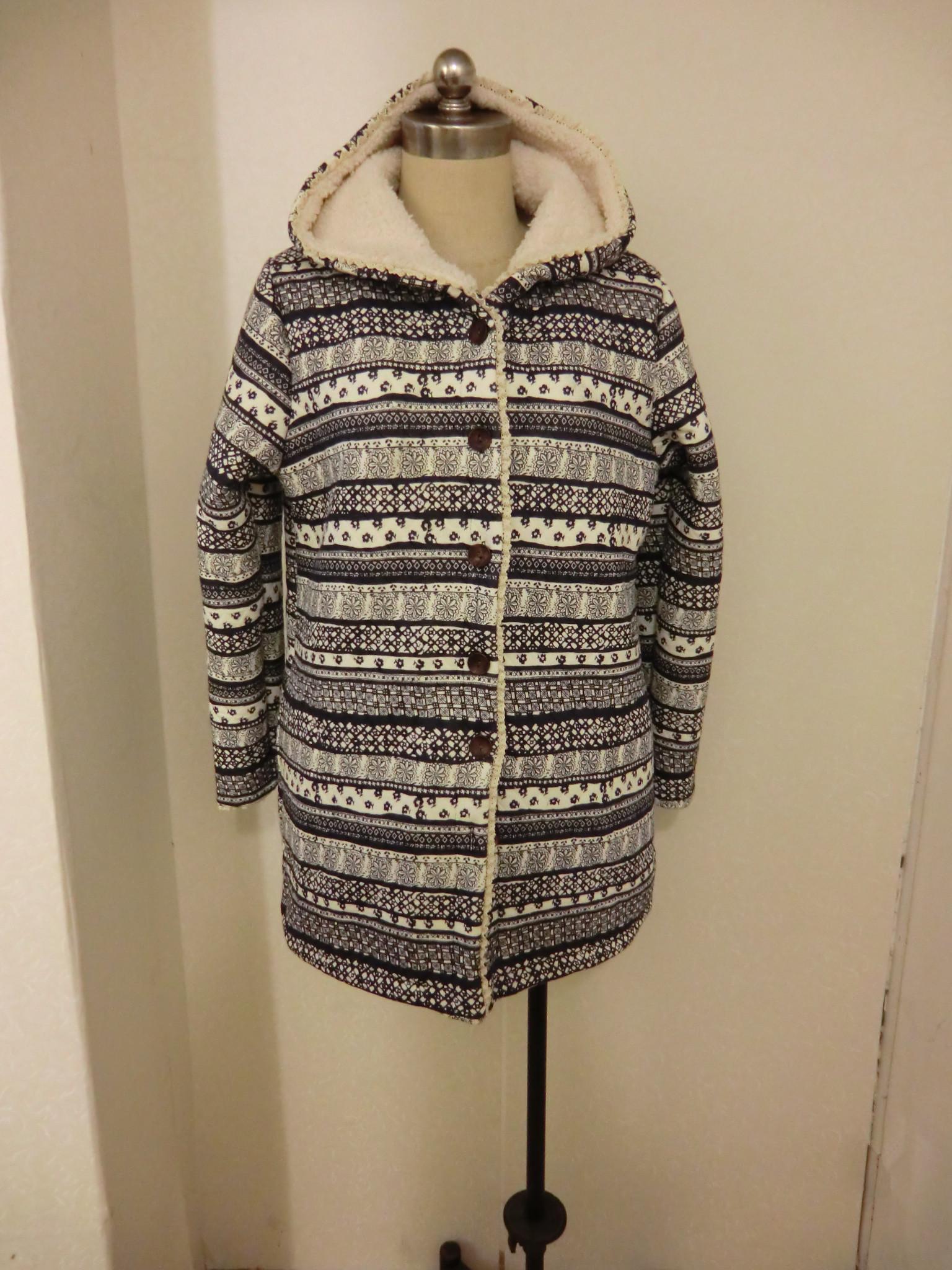 Женская утепленная куртка Японские сократить внутренние стандартные прекрасный кашемир напечатаны Мягкий Хлопок одежда