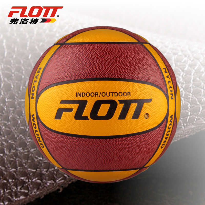 Flatt authentic Street basketball to indoor and outdoor cement sent General PU basketball nets and gas needle
