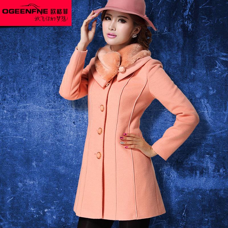 женское пальто Ou Gefei 134d 409 2013 Ou Gefei