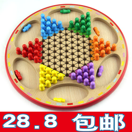 Original dance for children educational toys wooden flying chess and two in one wooden large parent-child birthday gifts