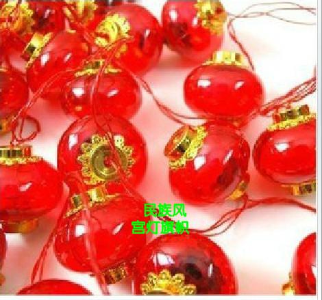 Китайский фонарик Crystal фонарь взимается строка Национальный день фонарь Фонарь красный фонарь Фонарь новый год фонарей