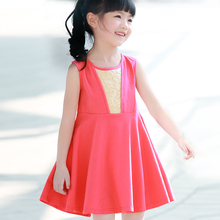 Wizard legend baby children's clothing girls summer skirt girls dress cotton children dress