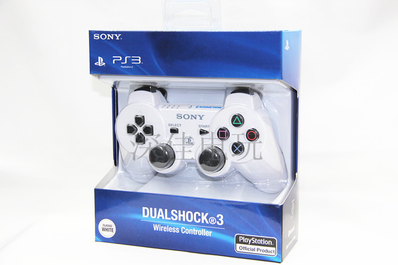 Джойстик для PS2, PS3 «Глубокую игру» красоты издание PS3 шесть оси движения беспроводной контроллер Bluetooth поддержки обновления (белый)