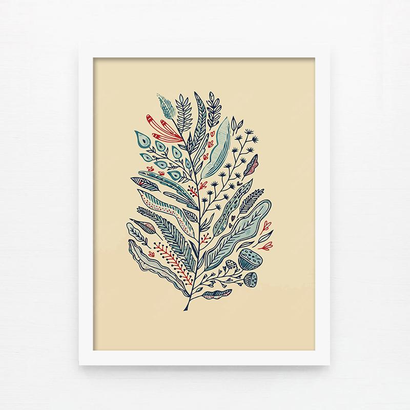 Фреска Paper love SW/045