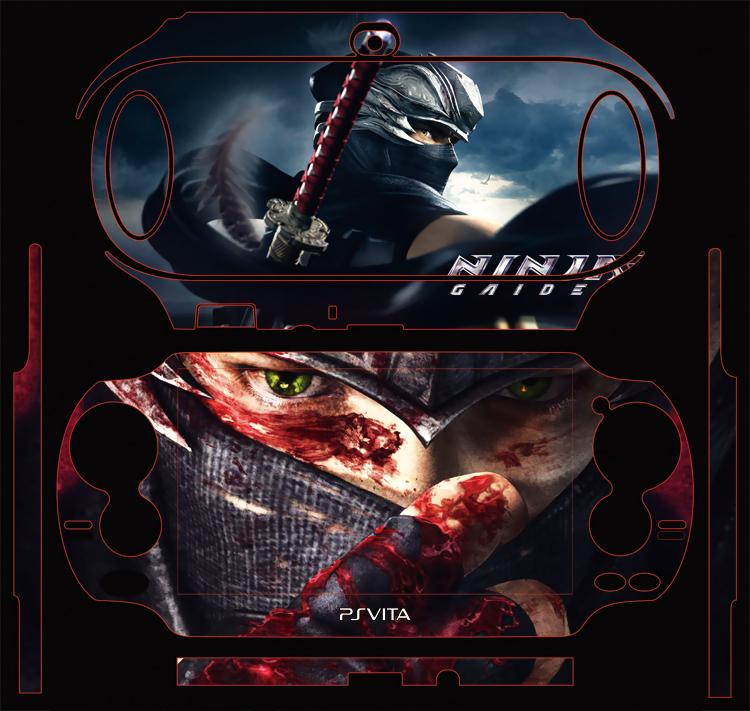 Наклейка для PS Vita ПСВ серийный наклейки / / аниме Ninja Gaiden Dragon psvita psp2 боль машина