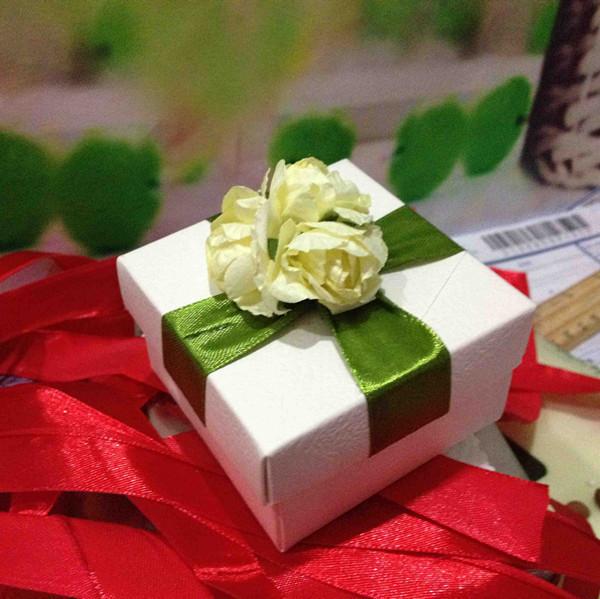 新款热销 欧式花园系高贵 绿色主题欧式 喜糖盒子 好时喜糖
