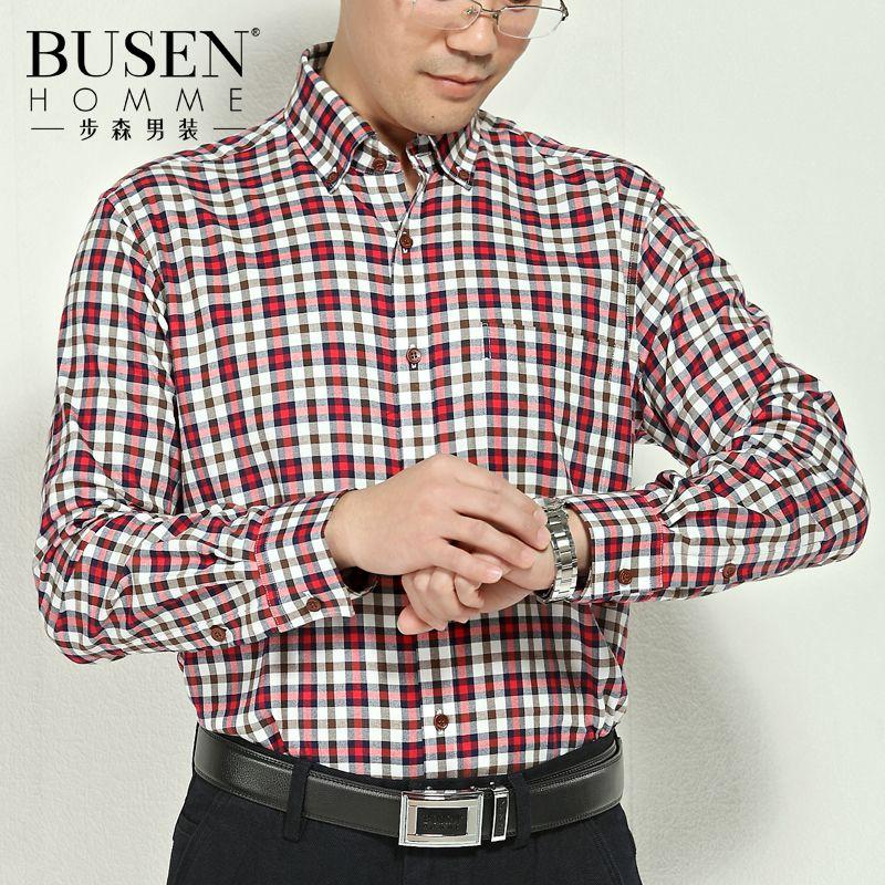 Рубашка мужская Busen 13312417 2013