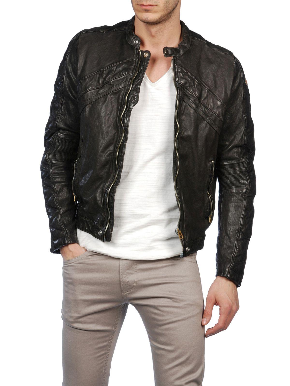 Одежда из кожи Diesel LUMI