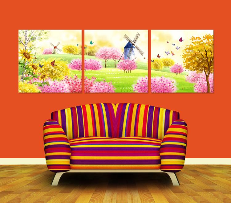 Фреска Wang painting 1234564