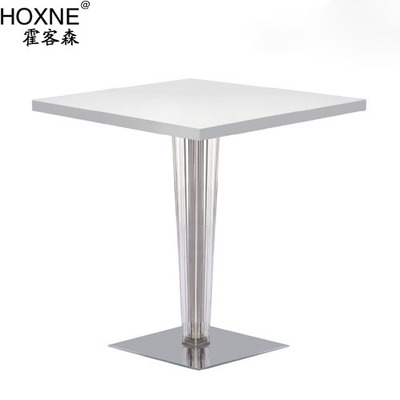 Huo customer Sen devil square table B, paragraph parlor tables square tables restaurant table coffee table tea shop table