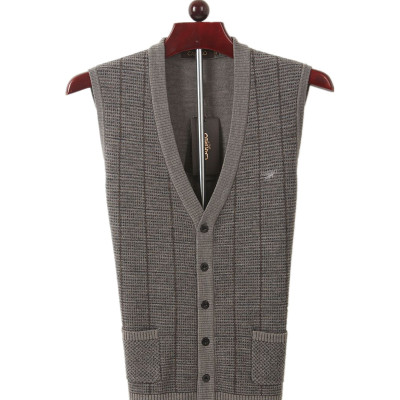Counter genuine business men Cartelo cartelo casual vest / open body vest / V-neck sweater vests