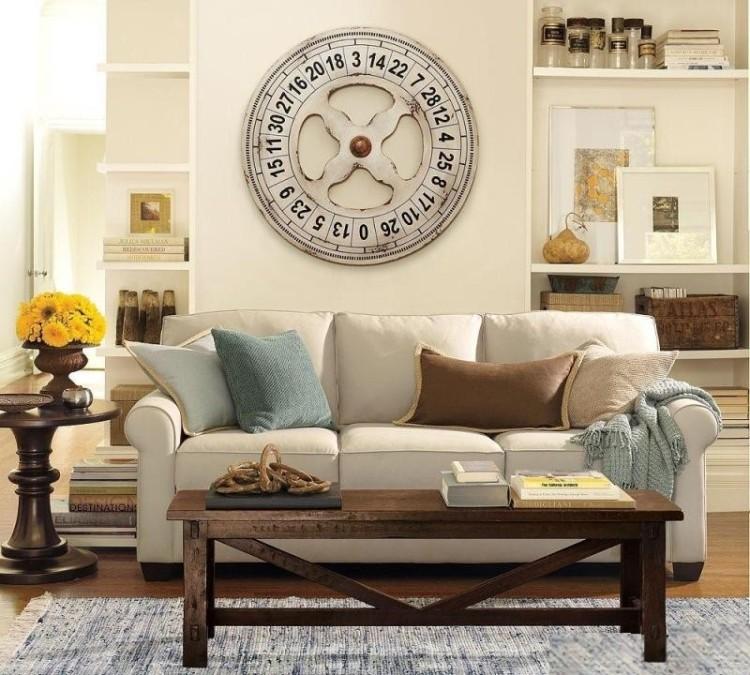 宜家美式小户型布艺沙发