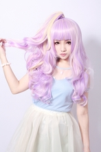 Cosplay curly wig