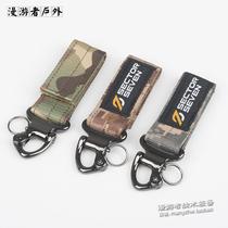第7区/户外战术装备尼龙织带扣 腰带钥匙挂扣 登山背包鹰嘴挂扣