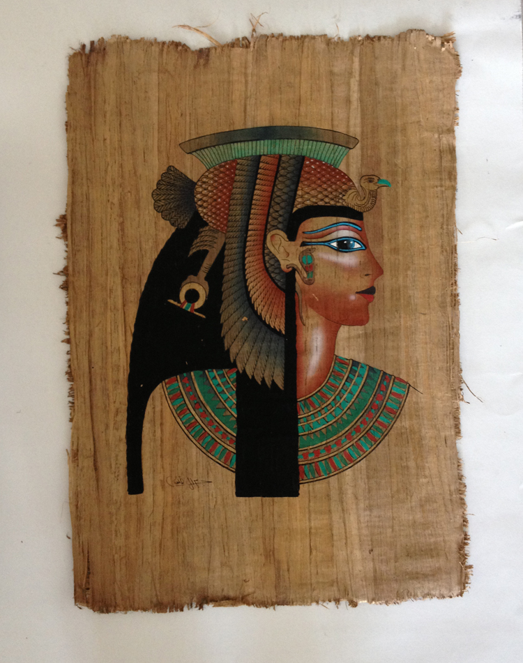 Египет Hundred percent handmade bark painting in Egypt 3 #