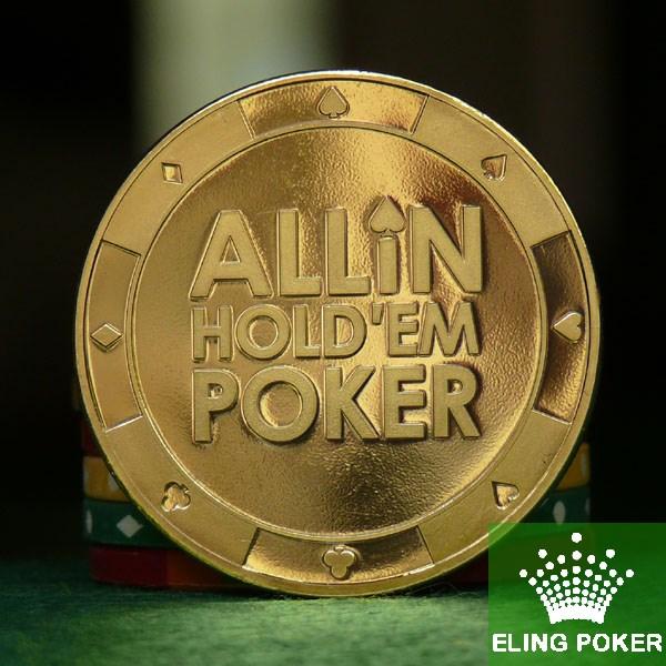 Покерные фишки Техасский Холдем покер карты двухсторонний узорной 100% чистой меди материала показаны класс принять настройки