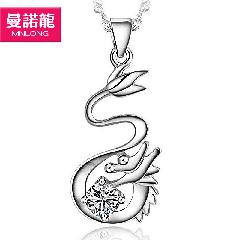 2013时尚饰品新鲜出炉银饰女水波链民族风纯银项链 首饰 流行