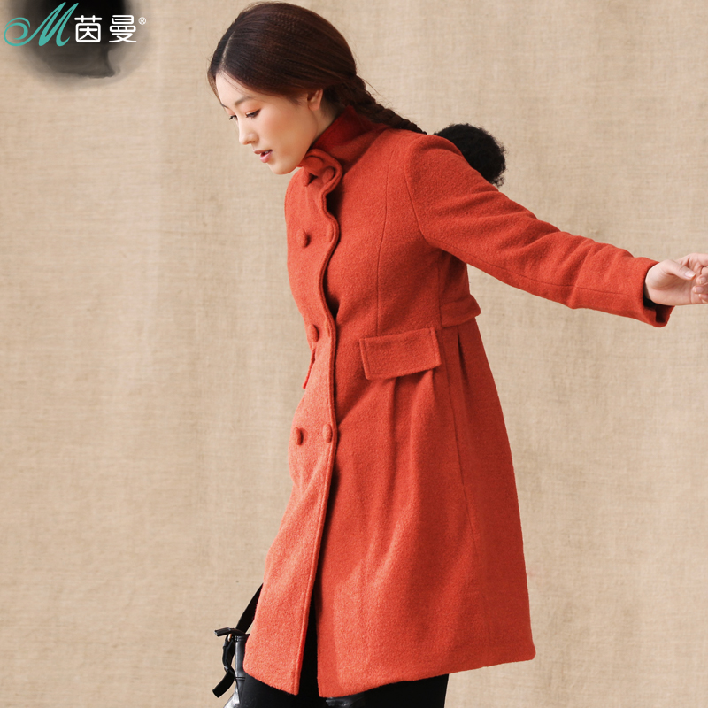 DOI Pullman 2012 winter with new trench slim long slim Barret coat Jacket Women 823,041,094